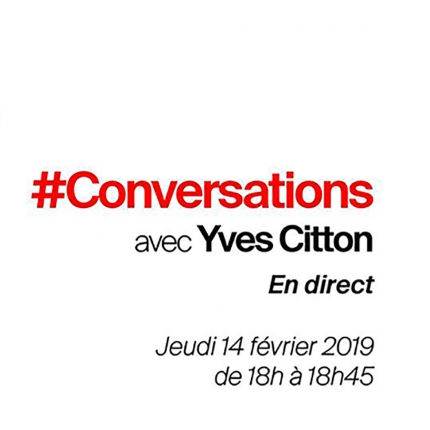 Conversations Yves Citton carre